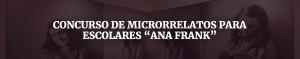 concurso de microrrelatos para escolares Ana Frank   Red de Juderías de España - Caminos de Sefarad