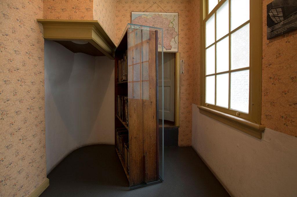Interior de la Casa de Ana Frank en Ámsterdam © Anne Frank House / Cris Toala Olivares