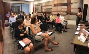 Asistentes al workshop profesional en Nueva York de la Red de Juderías de España