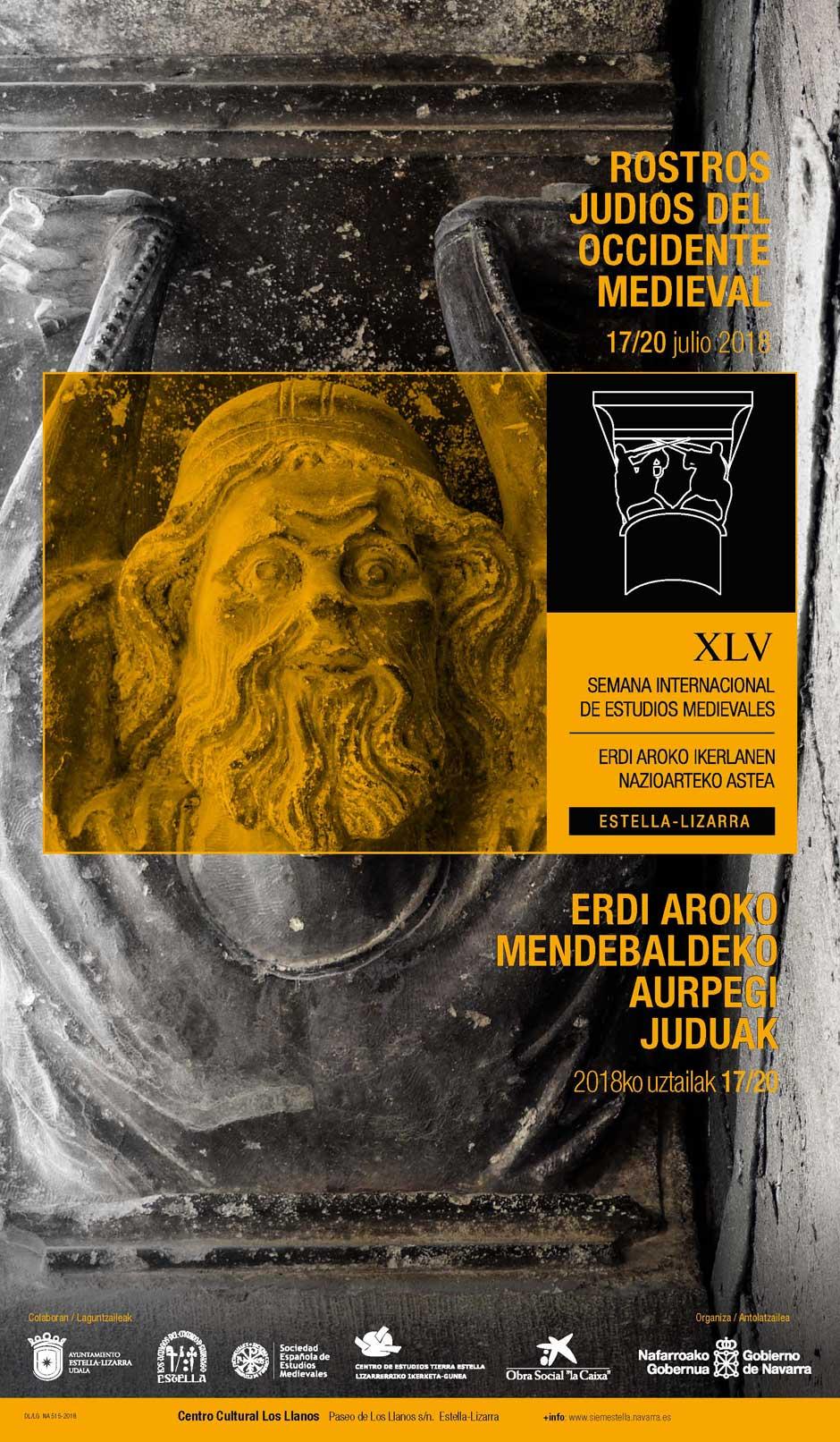 La XVL Semana Internacional de Estudios Medievales de Estella-Lizarra, que transcurrió del 17 al 20 de julio, puso el foco en el estudio de las comunidades judías en la Edad Media Occidental.