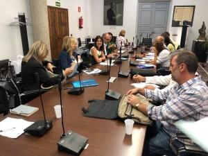 El pasado 1 de octubre, se celebró en la sede de la FEMP en Madrid la Reunión de Técnicos de las Ciudades de la Red de Juderías.