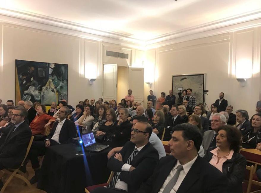 Evento de presentación de la Red de Juderías de España en la Embajada de España en Buenos Aires