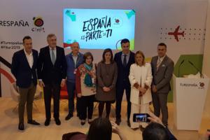 En el marco de FITUR 2019, la Red de Juderías de España – Caminos de Sefarad ha dado a conocer su oferta turística a medios de comunicación y profesionales turísticos en un concurrido acto presidido por Dña. Patricia Valles, Presidenta de la Red de Juderías y Alcaldesa de Hervás.
