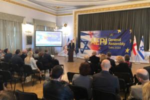 La Red de Juderías de España, en calidad de Socio Fundador de la AEPJ, acudió a la Asamblea con la representación de su Gerente, Marta Puig Quixal, que se entrevistó con diversos delegados de la AEPJ para compartir proyectos de ambas instituciones.