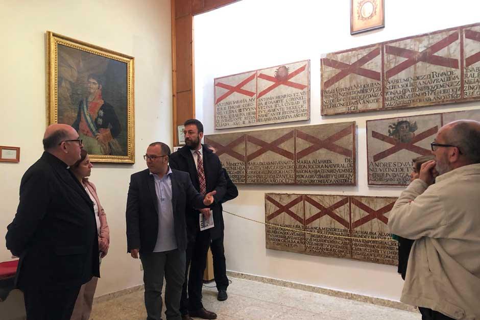 Se inician las visitas institucionales a las ciudades candidatas de la Red de Juderías de España