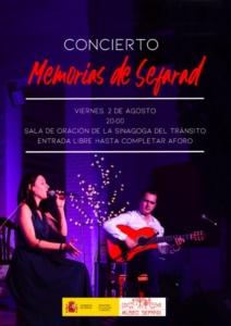 """Concierto """"Memorias de Sefarad"""" en Toledo"""