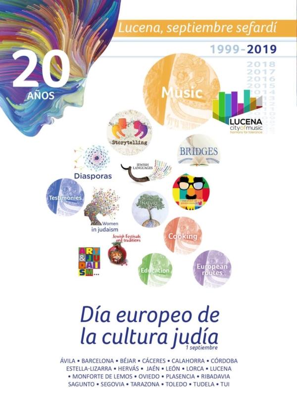 programación de la Red de Juderías en la 20ª Jornada Europea de la Cultura Judía