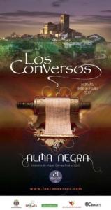 Cartel Festival Los Conversos Hervás 2017