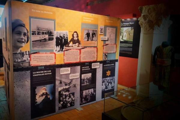 'Leer y escribir con Ana Frank' en Segovia
