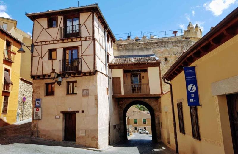 Puerta de San Andrés Judería de Segovia Red de Juderías de España Caminos de Sefarad