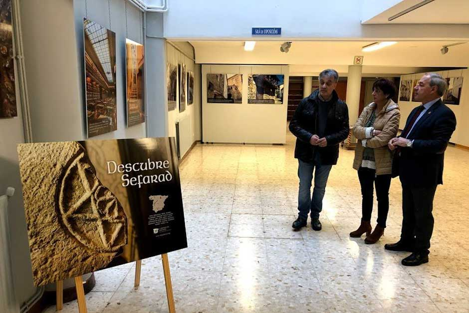 """Se inaugura en Monforte de Lemos la exposición """"Descubre Sefarad"""""""