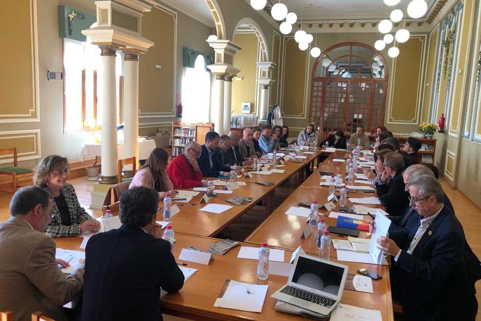 Jaén, ciudad que ocupa la Presidencia de la Red de Juderías de España, acogió el jueves 12 de diciembre la celebración de la 53ª Asamblea General Ordinaria de la institución.