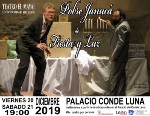 """""""Pobre Janucá de Fiesta y Luz"""" en León"""