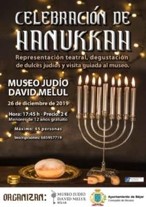 Hanukkah en el Museo Judío David Melul de Béjar