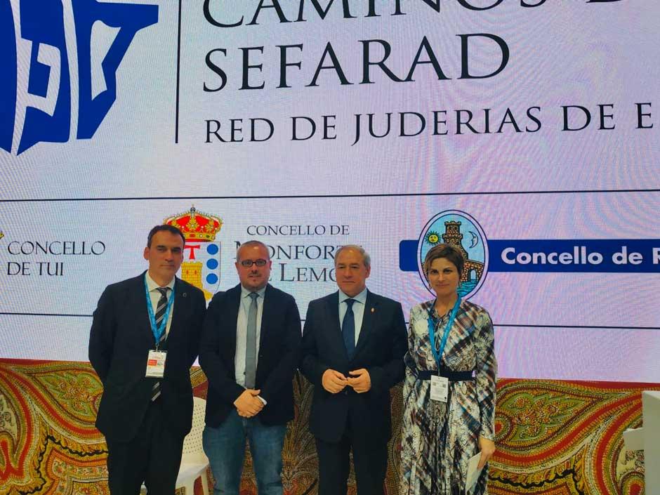 Las ciudades de la Red se presentan en FITUR como Marca Sefarad