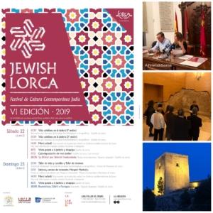 Los días 22 y 23 de junio se celebró el 6º Festival de Cultura Contemporánea Judía, JEWISH LORCA, que se celebró en diferentes localizaciones dentro del Castillo de Lorca y en otros puntos de la ciudad.