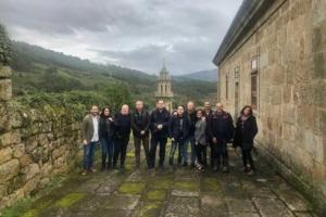 Viaje de prensa por las ciudades gallegas de la Red de Juderías