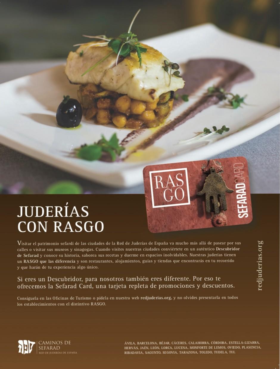 La Red de Juderías de España lanza acciones y un mensaje de apoyo a las personas y establecimientos que forman parte de su programa RASGO.