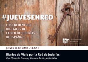 #JuevesEnRed: Diarios de Viaje, con Clemente Corona y Carmelo Jordá