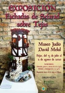 """Exposición """"Fachadas de Sefarad sobre Tejas"""" en Béjar"""