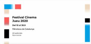cartel 22ª Edición del Festival de Cine Judío de Barcelona 2020 Red de Juderías de España Caminos de Sefarad