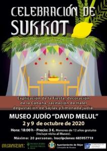 El Museo Judío David Melul acogerá la celebración de la fiesta los próximos días 2 y 9 de octubre.