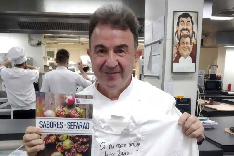 Martín Berasategui y Pedro Subijana, dos de los cocineros más importantes del mundo, promocionan en sus redes sociales el proyecto gastronómico de la Red de Juderías de España.