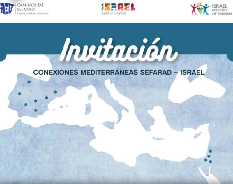 """webinar """"Conexiones mediterráneas Sefarad - Israel"""""""