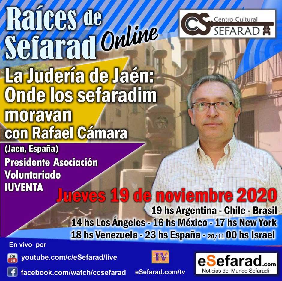 conferencia virtual La Judería de Jaén: Onde los sefaradim moravan | Red de Juderías de España