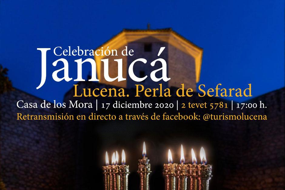 Lucena, la Perla de Sefarad, celebra Janucá el próximo jueves 17 de diciembre.
