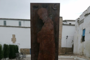 Las ciudades de la Red señalizan sus juderías con una placa de bronce