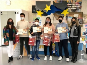 Entrega de diplomas a escolares de Lucena y Calahorra