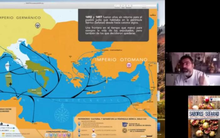 El Instituto Cervantes de Estambul dedica un webinar a los Sabores de Sefarad | Red de Juderías de España