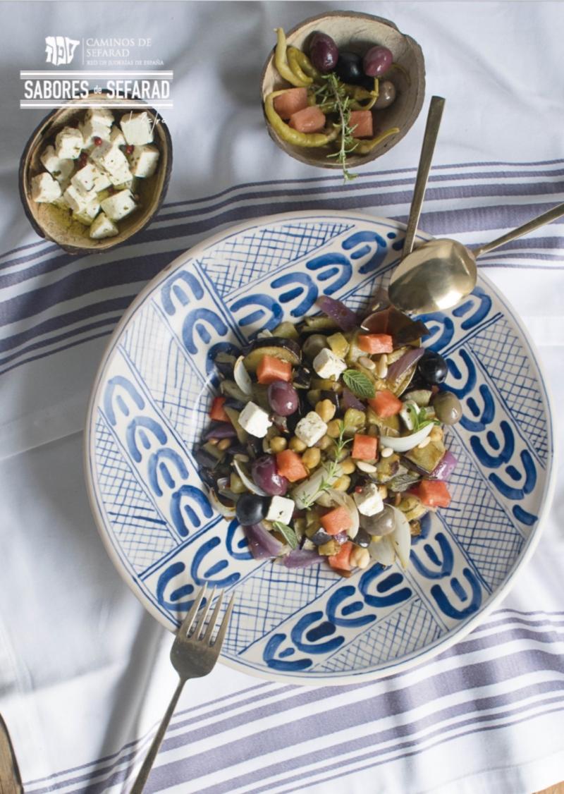 Menú de verano con raíces judías para Barcelona, Capital Mundial de la Alimentación Sostenible 2021.