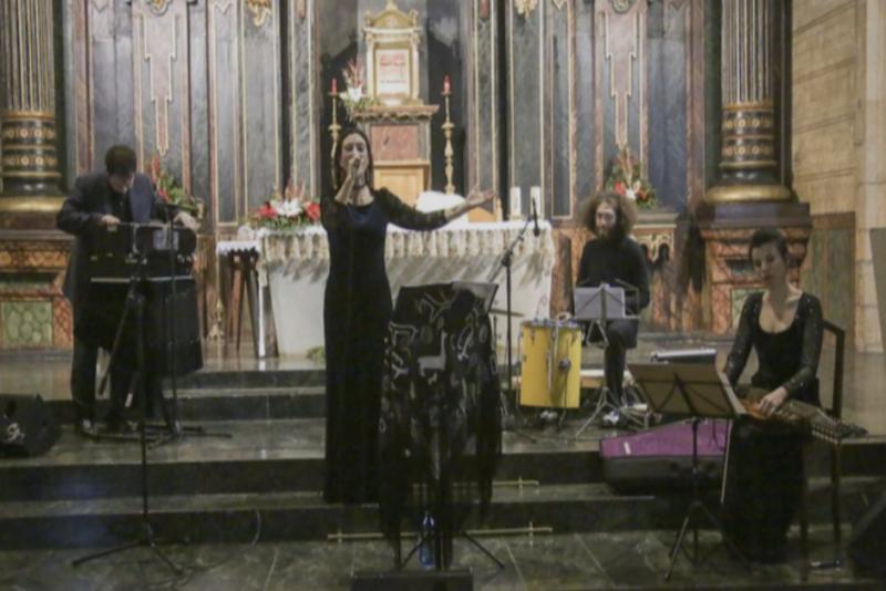 Concierto «A voz da pedra e sefardí»