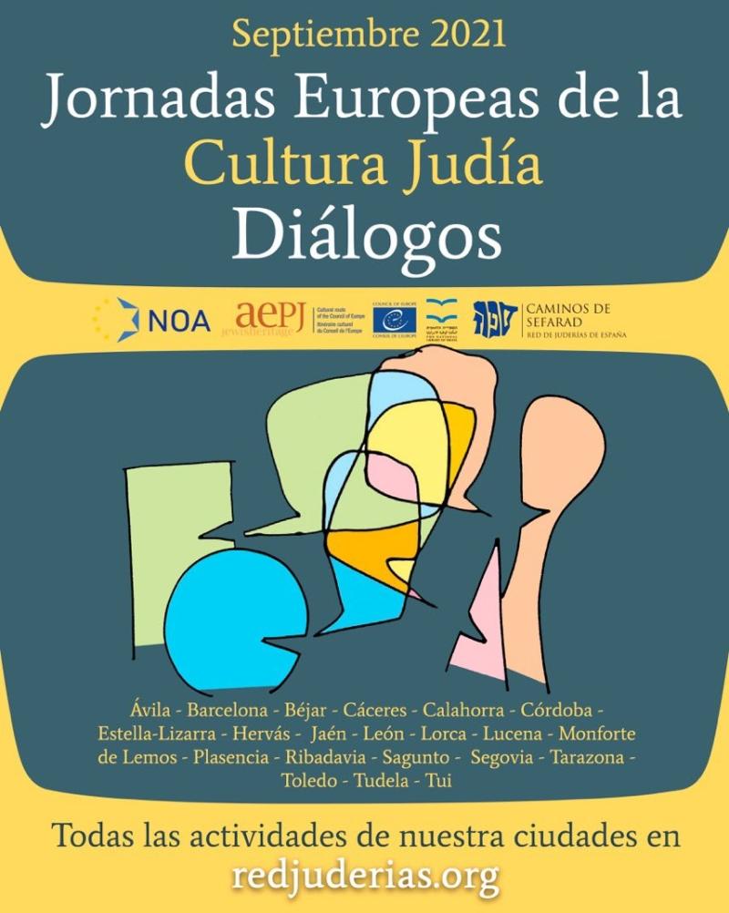 """""""Diálogo"""", temática de la Jornada Europea de Cultura Judía 2021   Red de Juderías de España Caminos de Sefarad"""