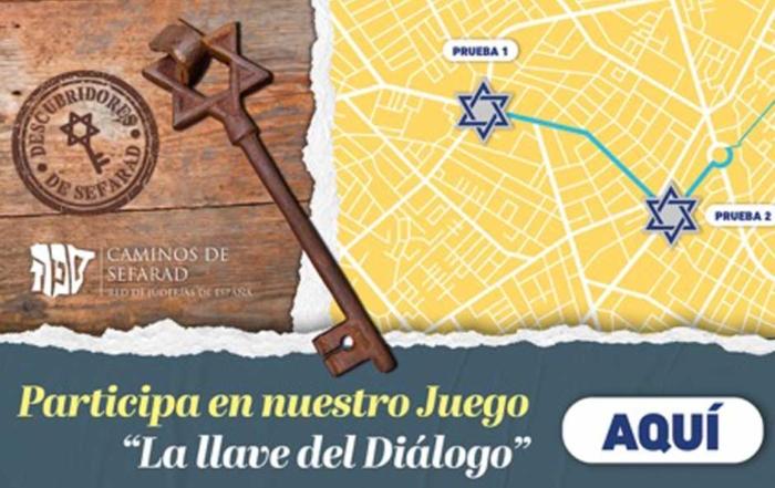 Busca la llave del Diálogo en las ciudades de la Red de Juderías