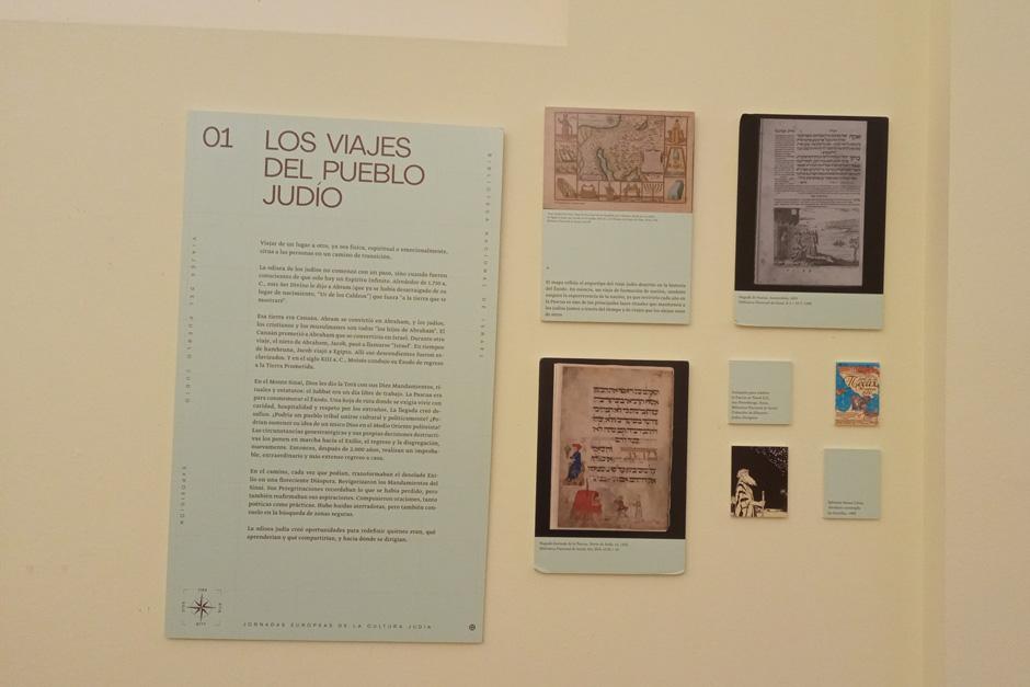 Exposición «Los viajes del pueblo judío» en Cáceres | Red de Juderías de España Caminos de Sefarad