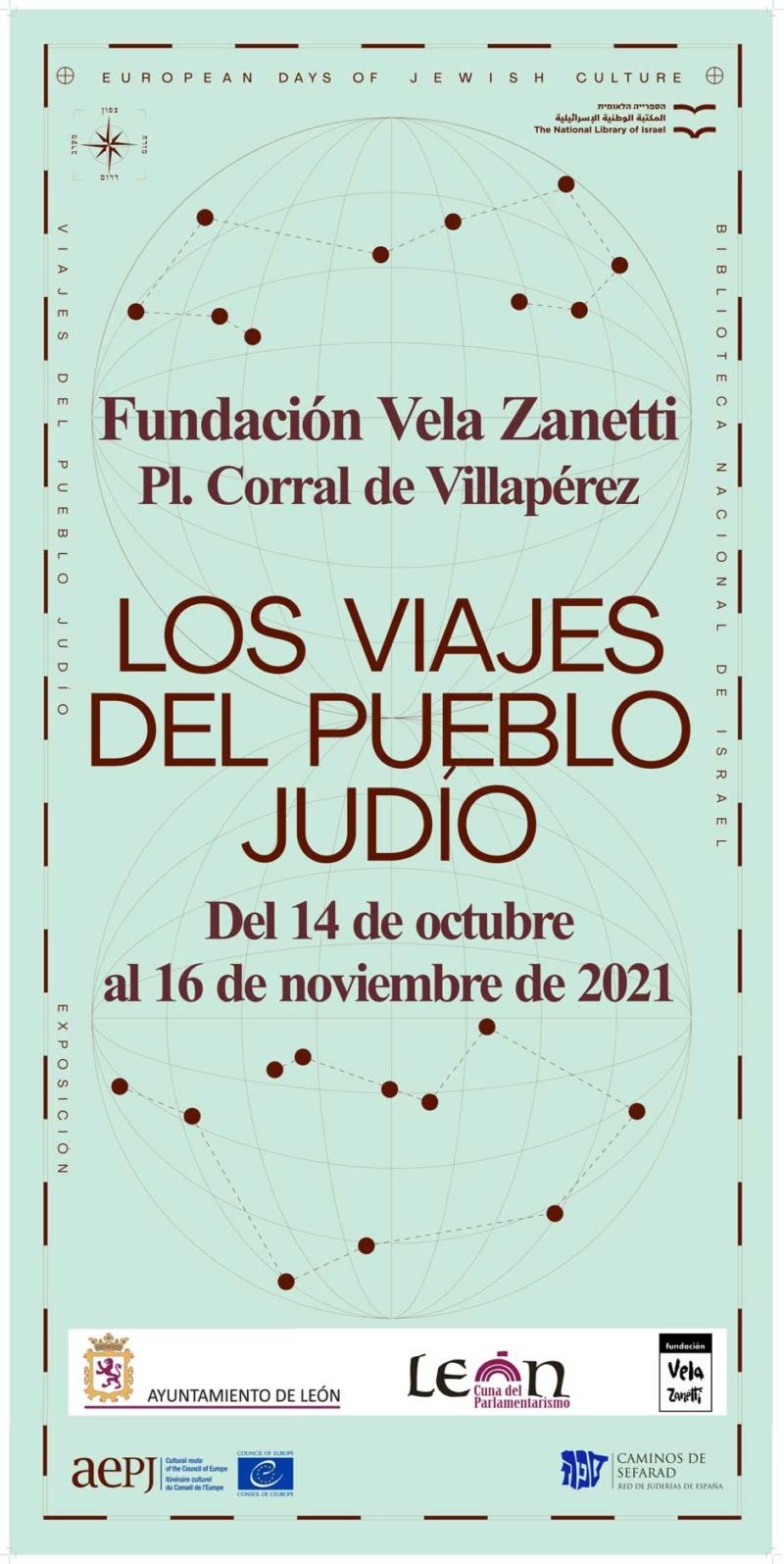 La exposición «Los viajes del pueblo judío» llega a León, donde podrá visitarse hasta el próximo 16 de noviembre. Red de Juderías de España Caminos de Sefarad